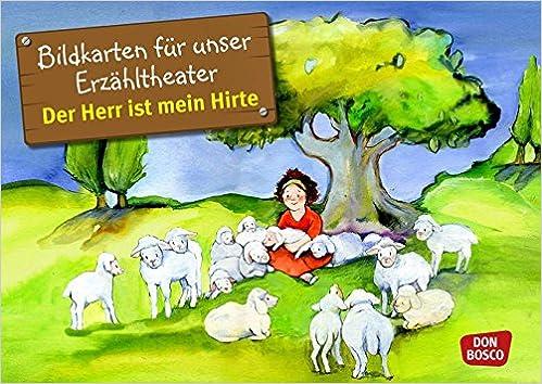 Bildkarten für unser Erzähltheater: Der Herr ist mein Hirte (Psalm ...