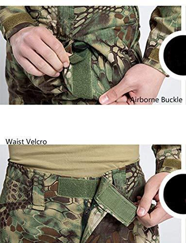 Travail Randonnée Cargo De Combat Pantalon Camouflage Huixin Air Grün Camo Armée Multi Tactical poches Vintage Imperméable Plein Hommes Pants En Trekking Respirant Camping Chasse 1THTwOBq