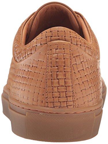 Aquatalia Mens Alaric Fashion Sneaker Dark Tan
