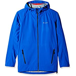 Champion Men's Tall Size Stretch Waterproof Rain Jacket, Awesome Blue, XX-Large