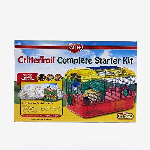 Kaytee Critter Trail Starter Habitat Complete Kit