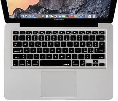 MAC XSKN silicio Teclado del Ordenador Portátil para MacBook Pro MacBook Air bastonazo leonera