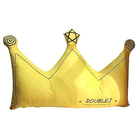 GJC Cojín Princesa Viento Corona Cristal Terciopelo Cama ...
