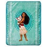Disney Moana - MOANA & PUA Plush Throw (46''x60'') - It's the Perfect Accent Piece for Fans of the Hit Movie