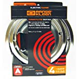 Range Kleen 10124XN Drip Pans 4 Pack Containing 2 Units 101Am and 102Am, Chrome