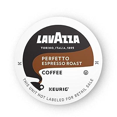 Lavazza Perfetto Single-Serve Coffee K-Cups for Keurig Brewer, Medium Espresso Roast, 16-Count Box