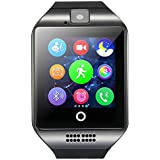 Smart Watch Beaulyn Bluetooth Smartwatch with SIM Card Slot \Camera\Touch Screen,Sweatproof Phones Wrist Watch Sports Fitness Tracker Compatible with iPhone Android for Men Women