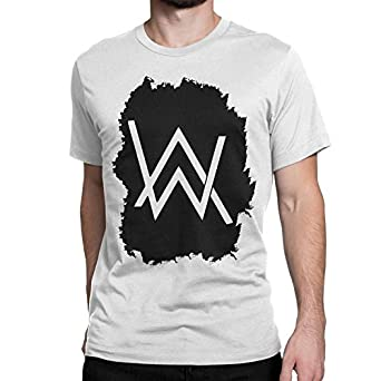 b19b893a2 Silly Punter Women's Cotton Edm Music Alan Walker Splash Logo T-Shirt (XL,  WHite): Amazon.in: Clothing & Accessories