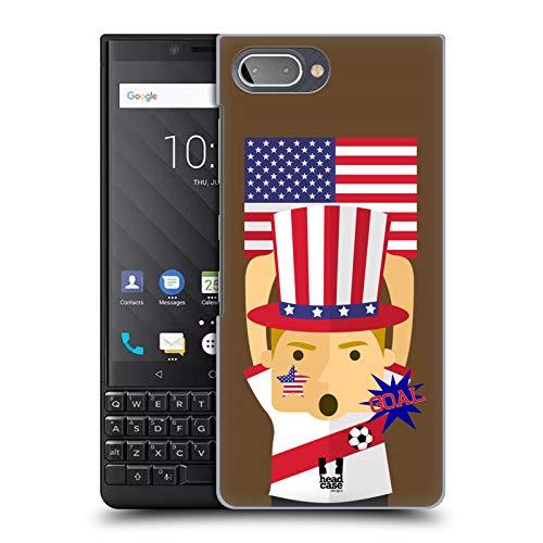 Head Case Designs USA Football Enthusiast Hard Back Case for BlackBerry KEY2