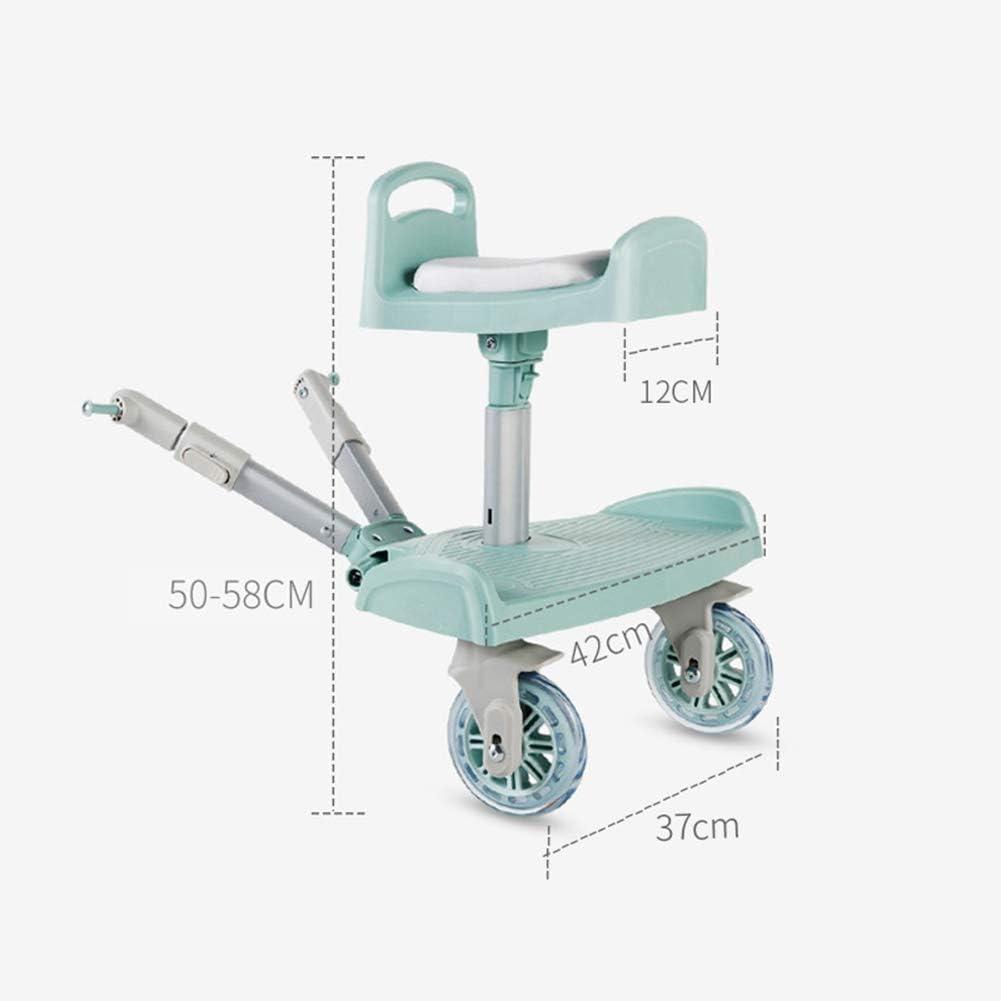 Baby Stroller Wheeled Buggy Board Pushchair Stroller Kids Step Board Connector