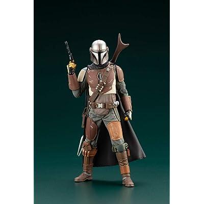 Kotobukiya Star Wars: Mandalorian ARTFX+ Statue: Toys & Games