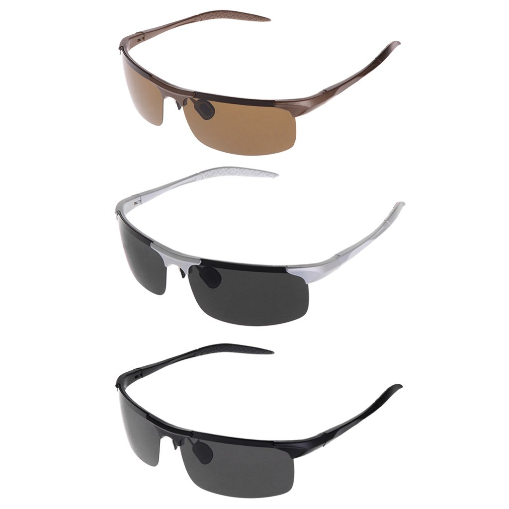Gafas polarizadas de protección para pesca, ciclismo, conducción, al aire libre Multi-color conducción Freshsell