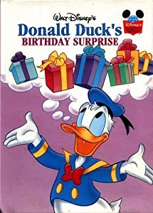 walt disney s donald duck s birthday book by walt disney company