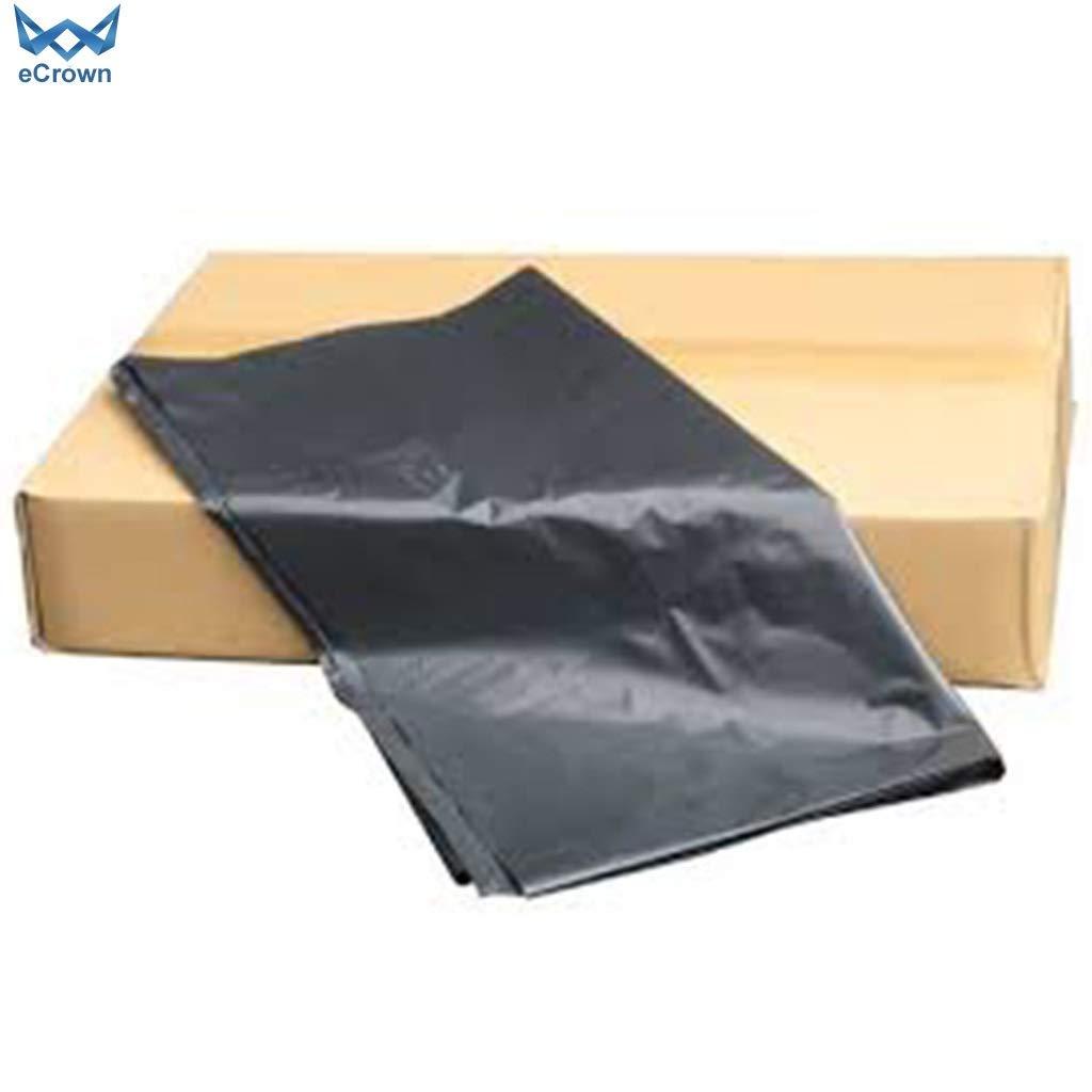eCrown Wheelie - Bolsas de basura (50 unidades), color negro ...