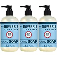 3-Pack Mrs. Meyer's Liquid Hand Soap 12.5 OZ (Rainwater)