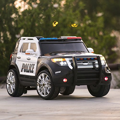 Best Choice Products 12v Kids Police Rc Remote Ride On Suv