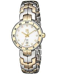 Womens WAT1450.BB0955 Diamond-Accented Two-Tone Bracelet Watch