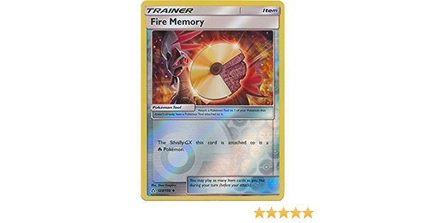 FIGHTING MEMORY TRAINER 94//111 REVERSE HOLO POKEMON SUN /& MOON CRIMSON INVASION
