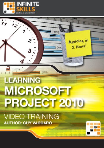 Learning Microsoft Project 2010 - Training Course for Mac [Download]