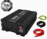 ERAYAK 800W Power Inverter DC 12V to 110V AC Converter with Dual USB Ports for Car Truck