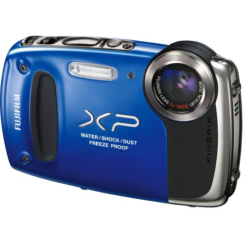 Fujifilm FinePix XP50 Digital Camera (Blue) by Fujifilm