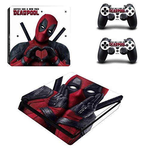 Deadpool Video Game Costumes - Amity Partners PS4 Slim Unique Skin