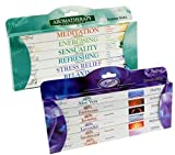 STAMFORD INC. 27281 Set of 96 Incense Sticks - Moods and Aromatherapy by Stamford
