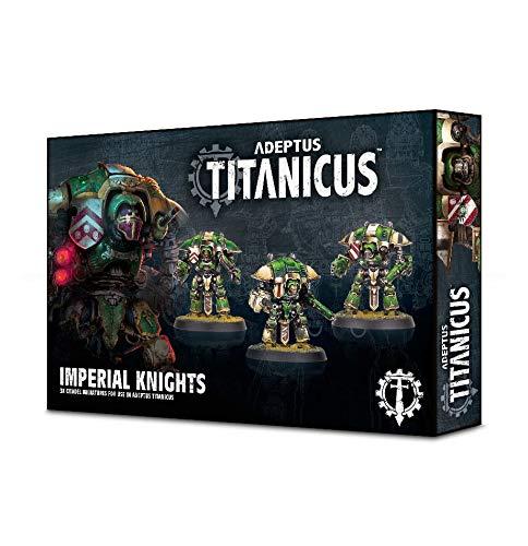 Games Workshop Adeptus Titanicus Imperial Knights Miniatures
