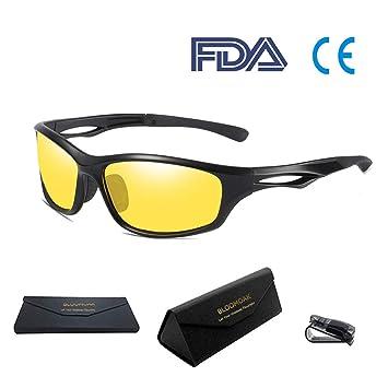 Bloomoak Gafas de sol polarizadas para conducción, deportivas, para hombres y mujeres, protección