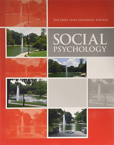 SOCIAL PSYCHOLOGY (CUSTOM S11)
