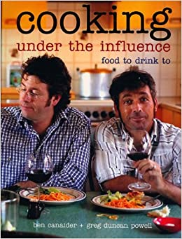 Book Cooking Under the Influence