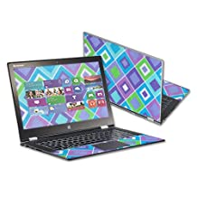 "Mightyskins Protective Skin Decal Cover for Lenovo IdeaPad Yoga 2 Pro 13.3"" Touchscreen wrap sticker skins Pastel Argyle"