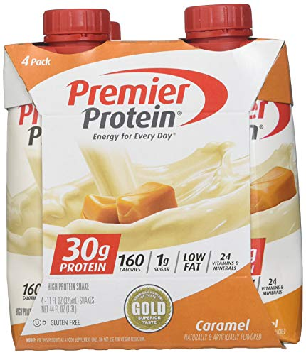 Where to find premier caramel protein shake?