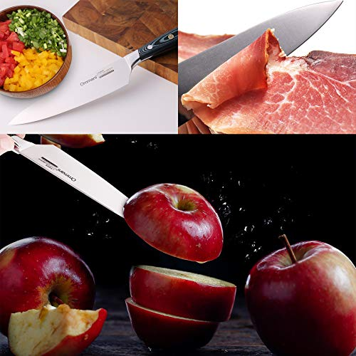 8'' Kitchen Chef Stainless Steel Knife by Ommani (Image #5)