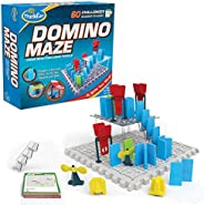 Domino Maze STEM Toy and Logic Game for Boys and Girls Age 8 and Up - Combines The Fun of Dominos with The Challenge of a Pu