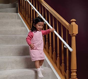 Kidco CareRailsu2022À? CR200 Banister Mount Kit Toddler Stairway Handrail