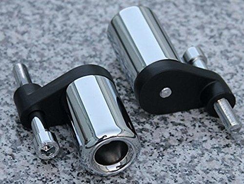 (i5 No-Cut Chrome Frame Sliders for Honda CBR1000RR CBR1000 CBR 1000 RR 1000RR 2006-2007 )