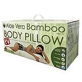 Aloe 99 Pillow B Hypoallergenic Aloe Vera Memory Foam Full Body, Adults, 6 Piece