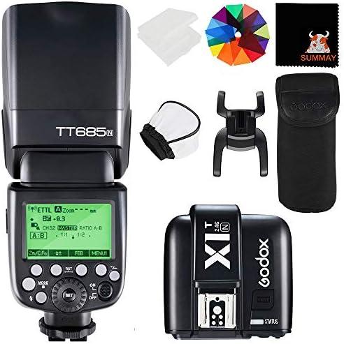 Godox Tt685n Ttl 2 4g Wireless Blitz Gn60 1 Kamera