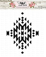 Native Tribal Aztec Stencil for Craft an...