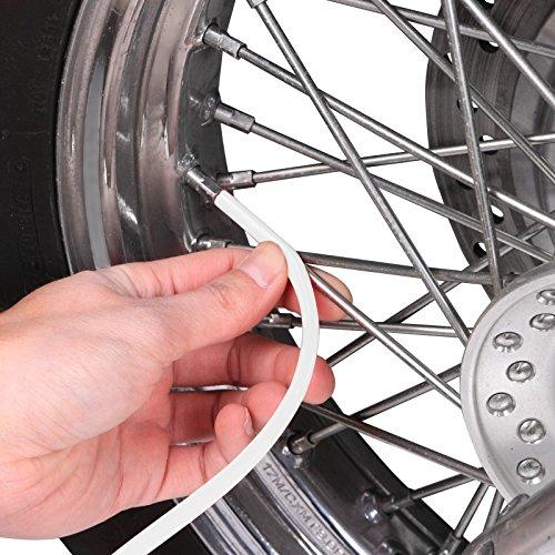 Speichen Cover Husqvarna 701 Supermoto Motea SPX rot