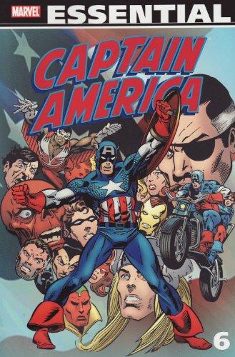 Essential Captain America, Vol. 6 (Marvel Essentials)