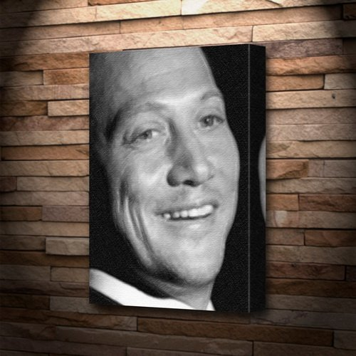 ROB SCHNEIDER - Canvas Print (LARGE A3 - Signed by the Artist) #js002