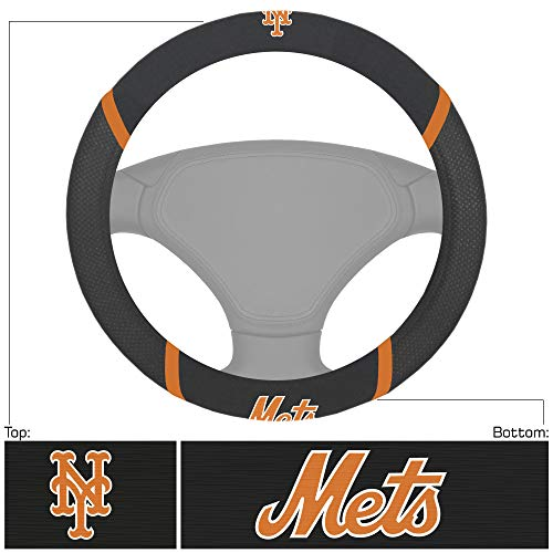 FANMATS MLB - New York Mets Steering Wheel Cover
