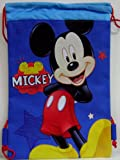 Disney Mickey Mouse Drawstring Bag Wallet and LCD Watch