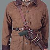 Galco Kodiak Shoulder Holster (Black), 7-1/2-Inch Ruger .44 Super Blackhawk, Left Hand