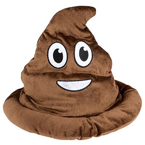 [Emoji Poop Hat (1)] (Poop Emoji Costume)
