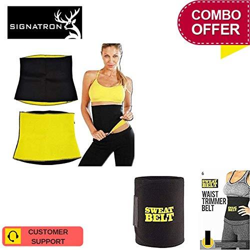 668d9820392 SIGNATRON Hot Waist Shaper Belt Instant Slim Look Belt for Men and Women  with Hot Shaper