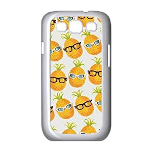Pineapple ZLB589243 Customized Phone Case for Samsung Galaxy S3 I9300, Samsung Galaxy S3 I9300 Case