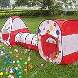 خيمة لعب مع نفق 19-629-200 ، 200 كورة